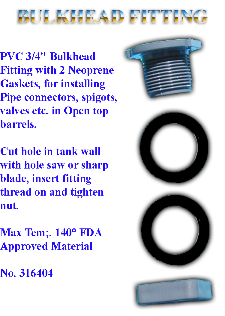 Bulk-Head-Fitting